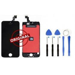 Ecran LCD et Vitre tactile Original Apple Reconditionné - iPhone 5S/SE + outils