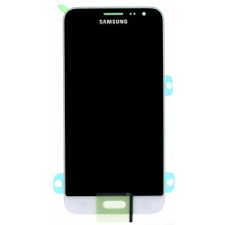 "Ecran complet LCD + vitre tactile - Samsung Galaxy J3 (2016) (SM-J320F) - Blanc ""SERVICE PACK"""