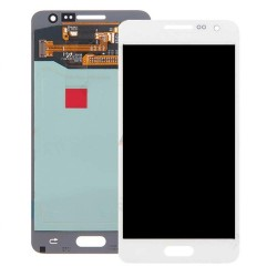 "Ecran complet LCD + vitre tactile - Samsung Galaxy A3 SM-A300FU - Blanc ""SERVICE PACK"""