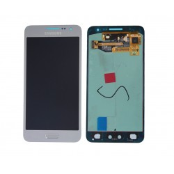 "Ecran complet LCD + vitre tactile - Samsung Galaxy A3 SM-A300FU - Argent ""SERVICE PACK"""