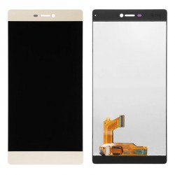 Ecran complet LCD + vitre tactile - Huawei Ascend P8 Or