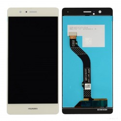 Ecran complet LCD + vitre tactile - Huawei P8 Lite (2017) Blanc + outils