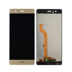 Ecran complet LCD + vitre tactile - Huawei Ascend P9 - Or