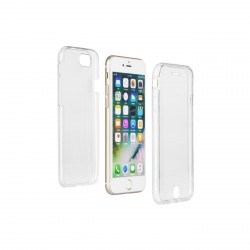 Coque Silicone 360 Intégral transparent iPhone
