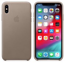 Coque de protection iPhone XS Taupe