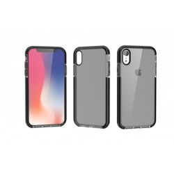 Coque bicolore - iPhone XS MAX Noir Transparent