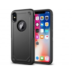 Coque hybride antichoc iPhone XR Noir