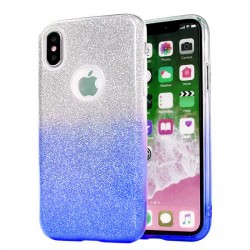 Back Case BLING - SAM A102 GALAXY A10E Bleu