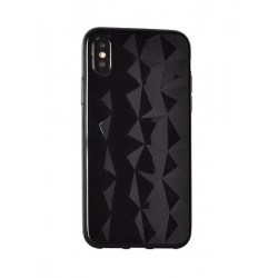 "Coque silicone souple Diamond - IPHONE 7 / 8 (4,7"") Noir"