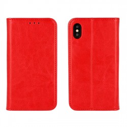 Housse portefeuille BOOK SPECIAL - IPHONE 11 PRO MAX Rouge