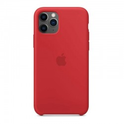 COQUE SILICONE ORIGINE Apple IPHONE 11 PRO MAX Rouge