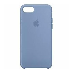 Coque silicone original Apple - iPhone 7/8 bleu azur