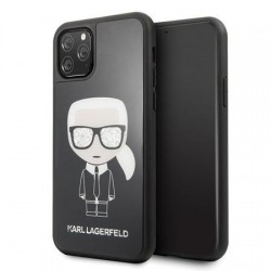 Coque origine KARL LAGERFELD - Iconic - Iphone 11 Pro Max Noir