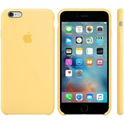 Coque silicone Origine Apple iPhone 6 Plus/6S Plus Jaune