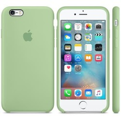 Coque silicone Origine Apple iPhone 6 Plus/6S Plus Menthe