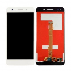 Ecran complet LCD + vitre tactile - Huawei Y6 2017 blanc