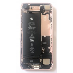 CHASSIS COMPLET AVEC BATTERIE ET CAMERA - IPHONE 7 ORIGINAL ROSE Grade A