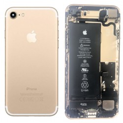 CHASSIS COMPLET AVEC BATTERIE ET CAMERA - IPHONE 7 ORIGINAL GOLD Grade A