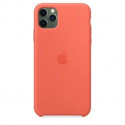 Coque silicone Apple iPhone 11 pro Orange