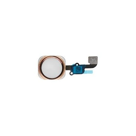 Nappe Bouton Home Universel Jc 6e Gen Taptic Press iPhone 7/7P/8/8P/Se2 Rose gold - Pas de Touch ID