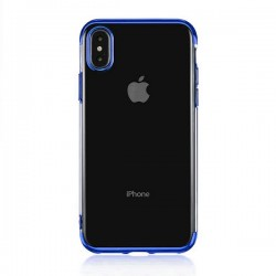 Coque New Electro bleu - iPhone XS Max
